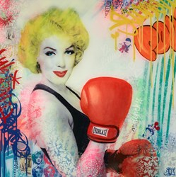 Everlast by Srinjoy - Mixed Media sized 24x24 inches. Available from Whitewall Galleries